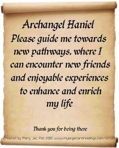 Send a Prayer to the Archangels - It's FREE to do ... HERE  ➡ http://www.myangelcardreadings.com/scrolls