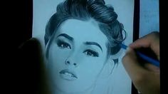 in X size vellum, graphite pencil and Eraser, makeup brush at cotton buds. total time drawing 7 hours and 15 . Liza Soberano, Sue Ramirez, Drawing Grid, Perfume, Faber Castell, Pencil Drawings, Colored Pencils, Makeup Brushes, Portrait
