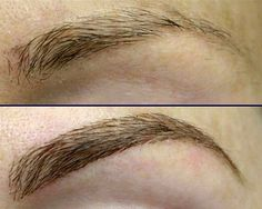 What exactly are brow extensions? And could they ever look natural? We caught up with Charity Engebretsen, owner of Master Lash By Charity, who offers the exclusive service to her clientele in Santa Monica. Love Makeup, Beauty Makeup, Hair Makeup, Hair Beauty, Beauty Stuff, Makeup Tips, Beauty Secrets, Beauty Hacks, Beauty Tips