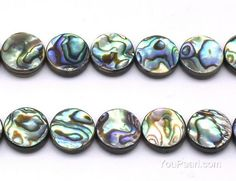 Abalone beads, natural round shape abalone paua shell, paua shell strand, loose shell beads for necklace wholesale, Paua Shell, Abalone Shell, Gift Box Packaging, Christmas Ornaments To Make, How To Make Necklaces, Color Shapes, Pearl Jewelry, Form, Shells