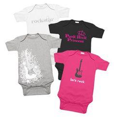 Rockstar Girl Baby Clothes