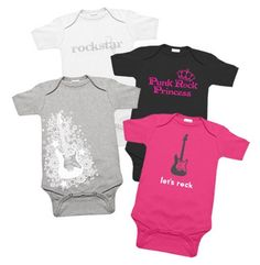 Rockstar Girl Baby Clothes