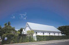 Die kerkgebou in Piet Retiefstraat, Strand.