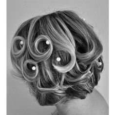 Wedding hair for short hair, perfect and chic!