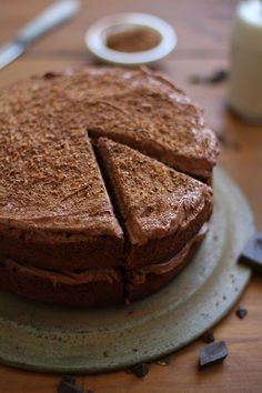 Chocolate Beet Cake with Chocolate Coconut Frosting - gluten-free and refined sugar free