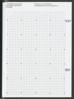 mikasavela: Diagramma abitativo omogeneo, No-Stop City by Studio Archizoom Associati, 1969-1972. From Netherlands Architecture Institute (NA...