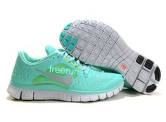 Womens Nike Free Run 3 Tropical Twist Reflect Silver Pure Platinum Volt Shoes