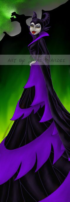 Maleficent by ~JunebugHardee on deviantART