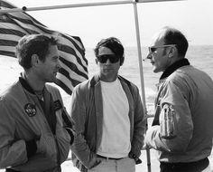 Wife of Apollo 8 astronaut Jim Lovell, Marilyn Lovell (L ...
