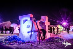 Canada has some of the BEST winter festivals in the world. who else celebrates winter the way those of us in the Great White North do?