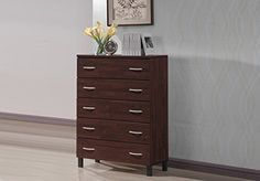 Perfect for those seeking a beautiful storage option, the Maison offers 5 generously sized drawers that will help keep your home clutter free. The clean lines of the Maison collection coupled with it's oak brown finish gives this piece a distinctively modern chic yet understated style.... more details available at https://furniture.bestselleroutlets.com/accent-furniture/storage-chests/product-review-for-wholesale-interiors-mason-finish-wood-5-drawer-storage-chest-oak-bro