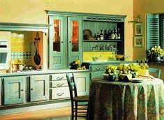 Distressed Green Kitchen Cabinets kitchen cabinets glaze and distress (21)superior remodeling