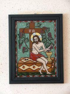 True Vine, Figure Painting, Catholic, Vines, Frame, Artwork, College, Decor, Saints