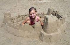 Kid's building #sandcastles #beach #sea