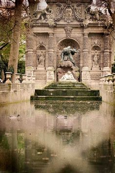 Fontaine Medicis, Jardin de Luxembourg, Paris, France