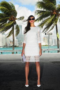 #lace #white #miami #woman