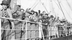 Jewish refugees aboard the German liner St. Louis, June 29, 1939. (Planet News Archive/SSPL/Getty Images/via JTA)