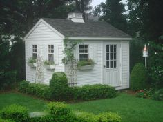our little garden shed which we had built in amish country it is so handy