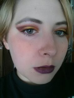 Madd Style Wrinkle in Time and Pop Tarte, My Pretty Zombie Unicorn Pee, Darling Girl Bronze Dawn, Koi, pixie sprinkles in Gilded Ballerina and Grandma's Sweater, blush in She Bop, OCC lip tar in Strumpet and RX.