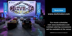 Ster-Kinekor launches drive-in experience in Cape Town - Memeburn Drive In Cinema, Movie Schedule, Traffic Congestion, Outdoor Movie Screen, V&a Waterfront, National Airlines, Can You Feel It, Advertising And Promotion, Road Rage