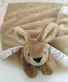 My Banky Rachel Brown Plush Bunny Rabbit Security Blanket Satin Trim Bear Blanket, Bunny Blanket, Rachel Brown, Realistic Stuffed Animals, Baby Security Blanket, Rabbit Baby, Baby Lovey, Honey Bunny, Bunny Plush