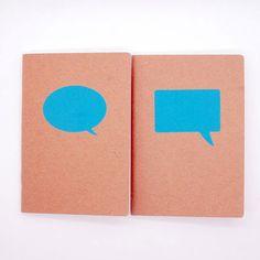 Speech Bubbles Notebooks
