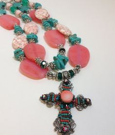 Chunky Cowgirl Western Necklace by CowgirlInspiration on Etsy, $60.00