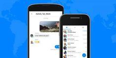 فیس بک اب میسنجر گروپس میں بھی چیٹ بوٹس متعارف کرا رہا ہے، اُردو پوائنٹ ٹیکنالوجی