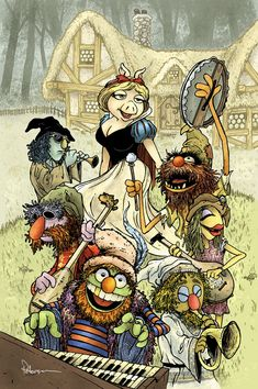 Muppet Fairy Tale Concepts - Snow White by David Peterson