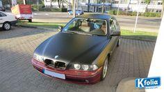 Schwarz matt foliert! #Autofolierung #Teilfolierung #Vollfolierung #BMW #Auto #Folierung #Kfolia #Magdeburg #Hingucker