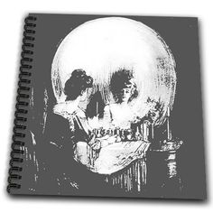 3dRose db_46711_1 All is Vanity Ghost, Halloween, Optical Illusion, Paranormal, Seasonal, Silhouette, Skeleton Drawing Book, 8 by 8-Inch 3dRose http://www.amazon.com/dp/B00B9R0JRM/ref=cm_sw_r_pi_dp_H5ZVvb1TWQN5G
