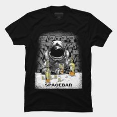 Spacebar T Shirt By Audi Design By Humans