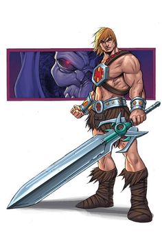 back in november i posted an entry with a sketch of he-man from my PHWOAR sketchbook. thanks to waki and james, they decided to take it to the nex. HE-MAN SKETCH COLOURED He Man Desenho, Comic Books Art, Comic Art, Cartoon Network, Comic Character, Character Design, He Man Thundercats, Minions, Man Sketch