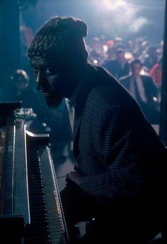  Thelonius Monk performing at the Newport Jazz...