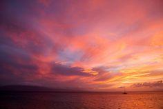 Thanks Maui No Ka Oi Magazine for the selection! Maui Sunset Photography, Beautiful Maui Sunset, Maui Photo of the Week! http//:www.howerphoto.com