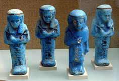 Shabti box    Period:      Third Intermediate Period  Dynasty:      Dynasty 21  Date:      ca. 1070–945 B.C.  Geography:      Egypt, Upper Egypt; Thebes, Deir el-Bahri, Tomb MMA 60, Chamber, burial 1, MMA 1922-1924  Medium:      Faience    Provenance:  Museum excavations 1923–24. Acquired by the Museum in the division of finds, 1925.