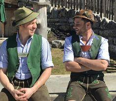 Traditional Fashion, Traditional Dresses, Lederhosen, Oktoberfest Outfit, Bavaria, Men Dress, Costumes, Guys, Beards