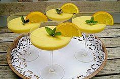 Feine Orangencreme