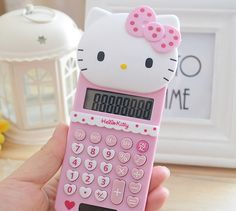 Find More Calculators Information about 2016 New Cute Hello Kitty Basic Electronic Calculator 8 Digitals Pink Calculating,High Quality gift beer,China gift towel Suppliers, Cheap calculator nokia from Persona Toy Co., Ltd. on Aliexpress.com