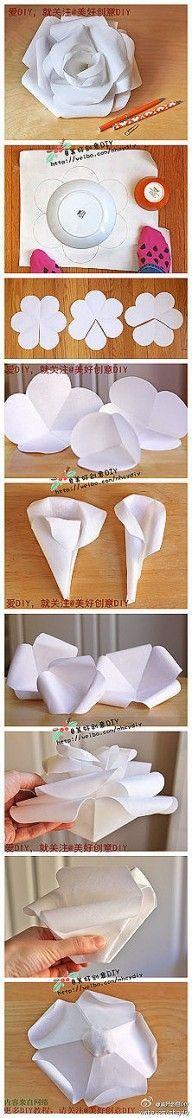DIY Beautiful Modular Paper Rose DIY Projects