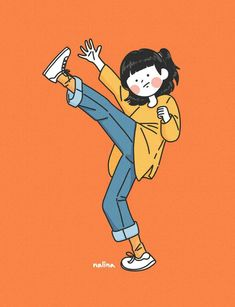 Cute Illustration, Character Illustration, Character Art, Character Design, Cute Couple Art, Kawaii Wallpaper, Cartoon Art Styles, Cute Cartoon Wallpapers, Anime Art Girl