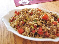 Hawaiian BBQ Meatballs with Rice