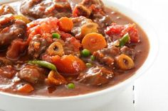 Tomatie Bredie (stew)…dish from South Africa…made with either lamb or beef…. Tomatie Bredie (stew)…dish from South Africa…made with either lamb or beef…. its the best comfort grub around. enjoy with crusty white bread and/or rice…sounds so yummy! Oxtail Recipes, Lamb Recipes, Cooking Recipes, Oven Recipes, Pasta Recipes, Crockpot Recipes, Salad Recipes, South African Dishes, South African Recipes
