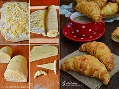 Gabriella kalandjai a konyhában :) New Recipes, Vegetarian Recipes, Jewish Apple Cakes, Hungarian Recipes, Hungarian Food, Tasty, Yummy Food, Bread And Pastries, Bakery