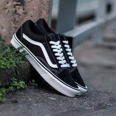 Vans Old Skool Lite+ (Suede/Canvas) Black/White - Footshop