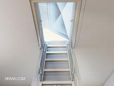 Escaleras Plegables De Altillo En Madera - $ 6.800,00