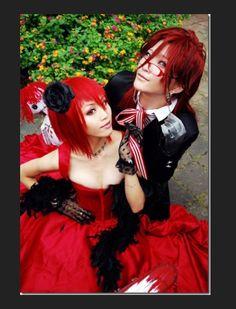 Kuroshitsuji - Madam Red & Greil