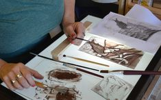 Stained glass courses. Traditional glass paint. Edinburgh