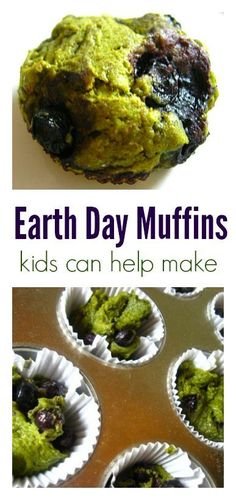 Diese Earth Day Muffins sind so einfach! Chocolate Lasagna, Dark Chocolate Cakes, Strawberry Cheesecake Bites, Muffins, Cooking Challenge, Baked Strawberries, Sweet Potato Soup, Earth Day, Copycat Recipes