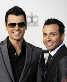 Jordan Knight & Howie Dorough (NKOTB and BSB)